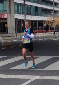 This is at the 20km mark at STWM... a whole lot of pain!