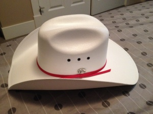 white hatted